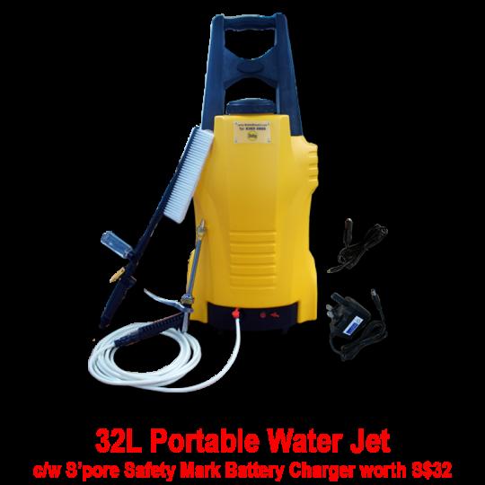 32L Delta Portable Water Jet