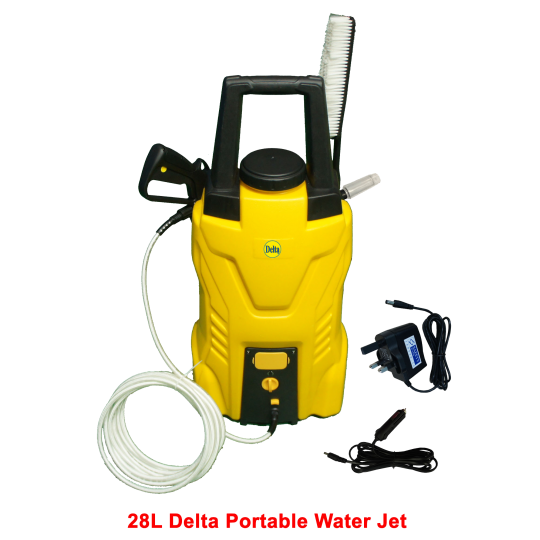 28L Delta Portable Water Jet - One Set