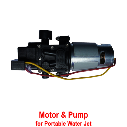 Motor & Pump Set (Water Jet)
