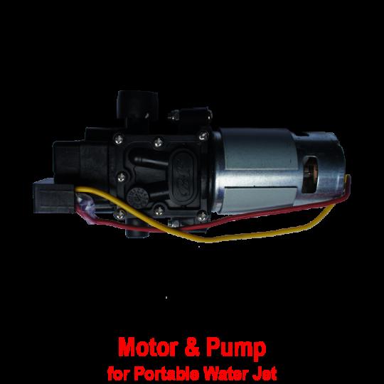 Motor & Pump Set (Water Jet)
